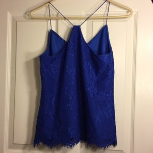 J. Crew Tops - NWT J. Crew Blue Lace Top (Size 0P)